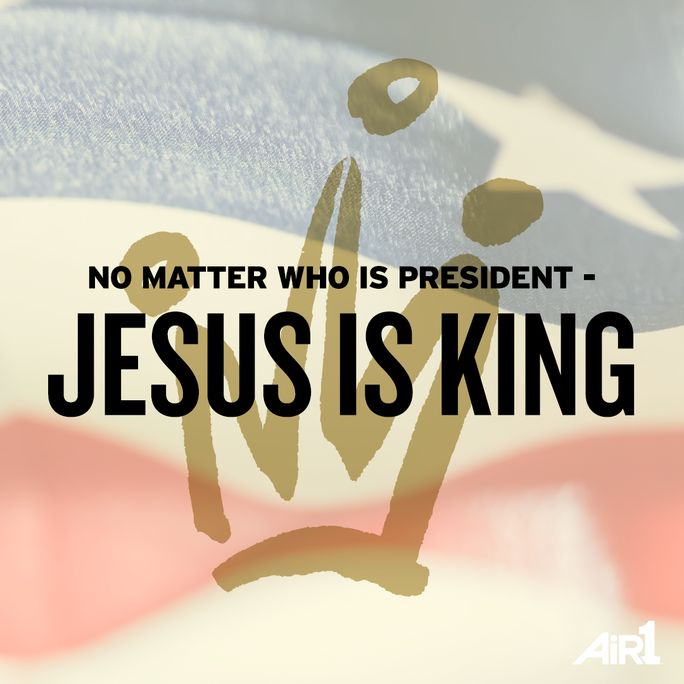 Jesus is King! #Jesus #King