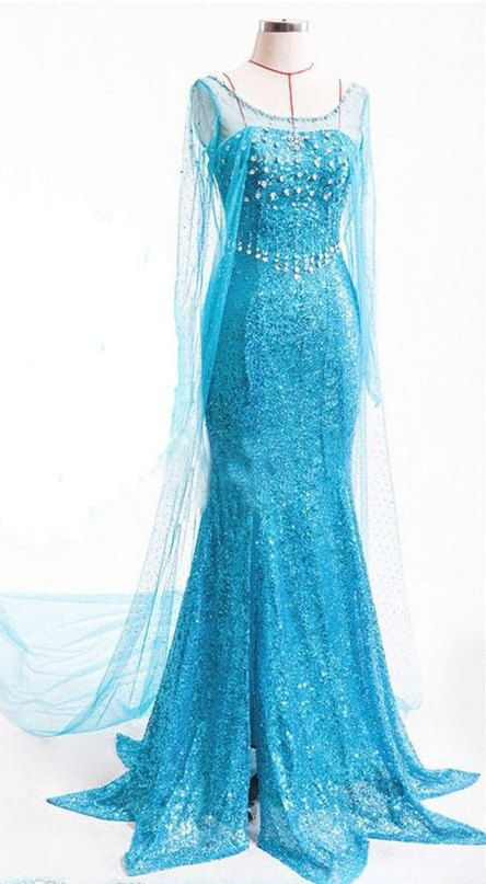 Disneys Frozen Elsa Adult Costume - Made to order - SMall Medium Large - Rhinestone - Sparkles - Halloween - Cosplay - FREE SHIPPING!!