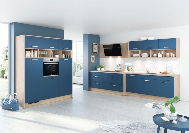 Atemberaubend Amazing Chic Einbauküche Ohne Kühlschrank Bilder ...