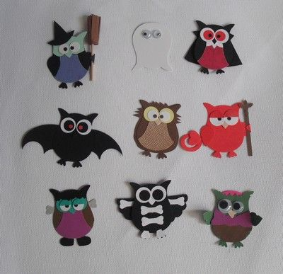 SU Owl Punch - Halloween Punch Art I by DiHere - Cards and Paper Crafts at Splitcoaststampers ! I NEED this punch!!!! Stampin Up?!