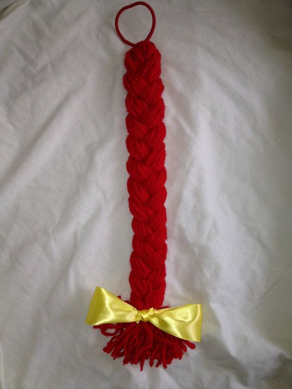 Jessie the Cowgirl Braided Hairpiece - Toy Story Costume Accessory