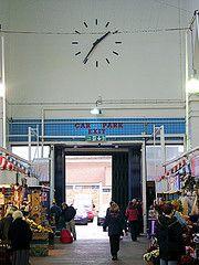 Clock - Plymouth market