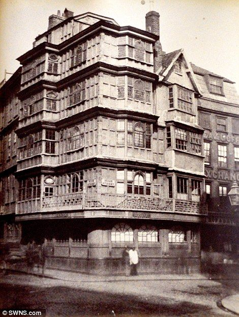 High Street in Bristol (in 1850) is one of the areas where the buildings have changed quit...