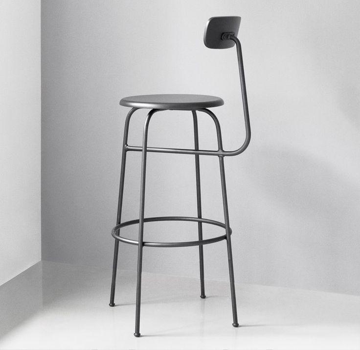 Reduziertes Design Trifft Auf Funktionalität: Der Barhocker Ist Ein  Zeitloses Möbel, Dass Sich Problemlos