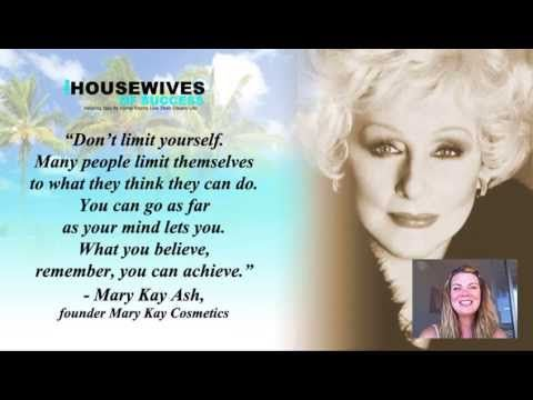 Are you limiting yourself and sacrificing your success? Video Quotes | Daily Successful Women Quote - Mary Kay Ash