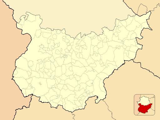 Segura de León ubicada en Provincia de Badajoz