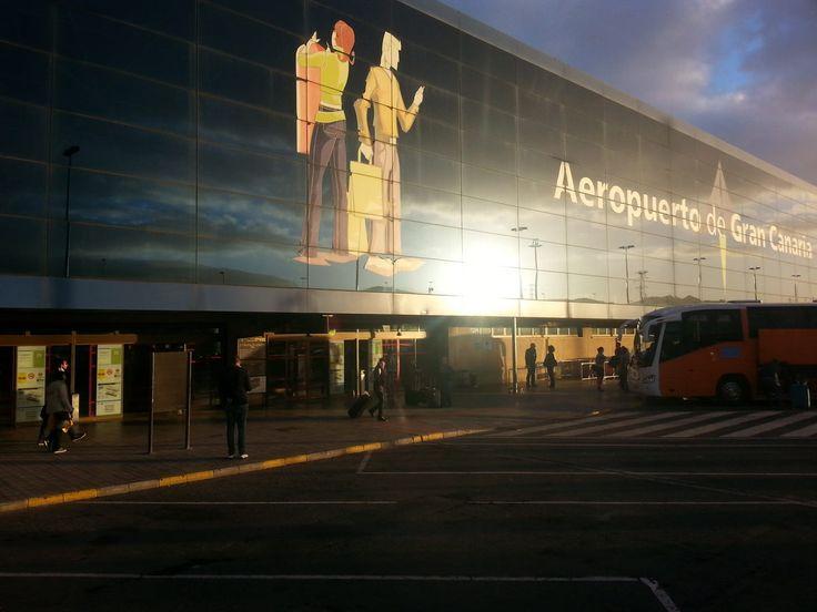 'Der Flughafen' aus dem Reiseblog 'Über Weihnachten auf den Kanaren: Urlaub im Dorado Beach auf Gran Canaria'