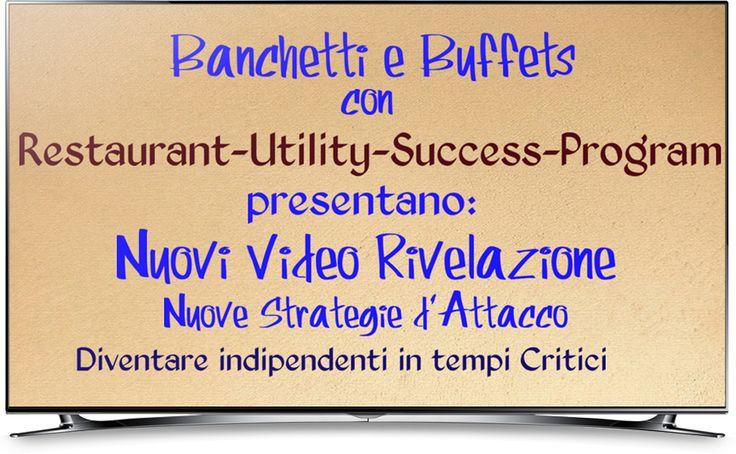 NUovo Lancio Banchetti e Buffet con Utility-Success-Program