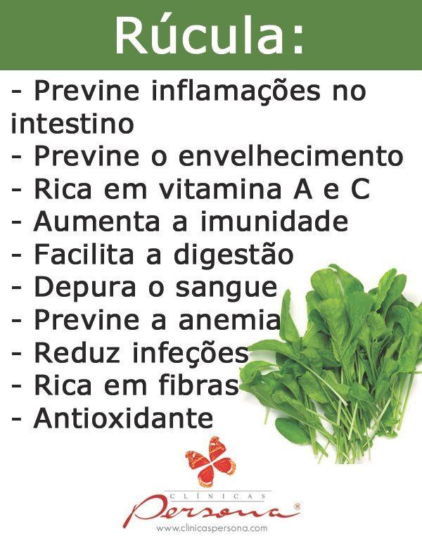 Conheça os benefícios da rúcula para a saúde!