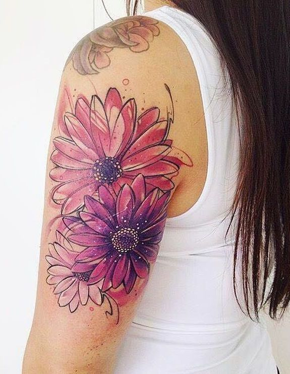 Stunning Watercolor Tattoos By Adrian Bascur Watercolor Tattoo