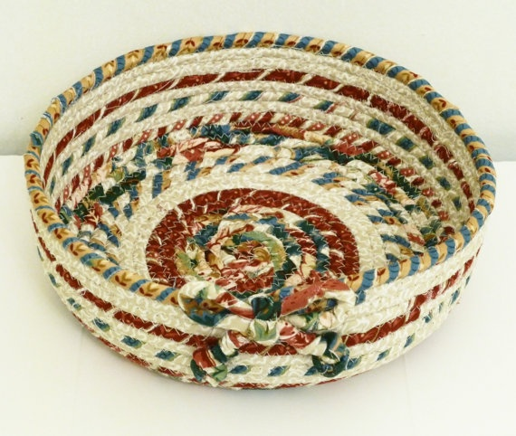 Coiled Rag Rug Instructions: 25 Best Rag Bowls Images On Pinterest