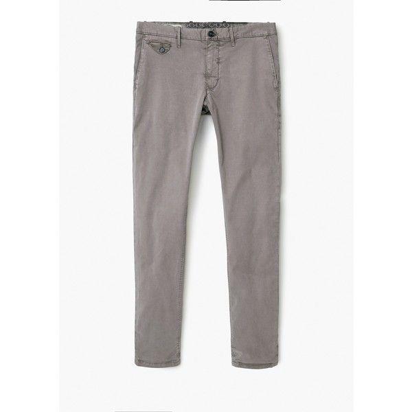 Chino slim-fit cotone - Pantaloni da Uomo | MANGO (€40) via Polyvore