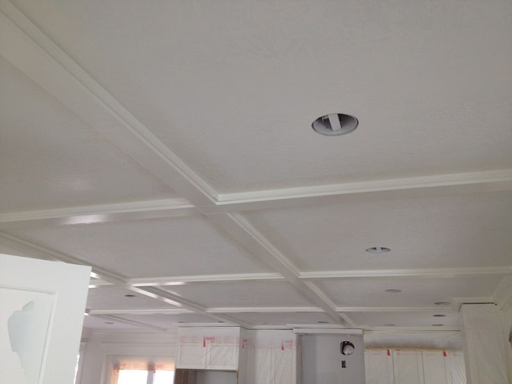 10 Best Faux Coffered Ceiling Ideas Images On Pinterest