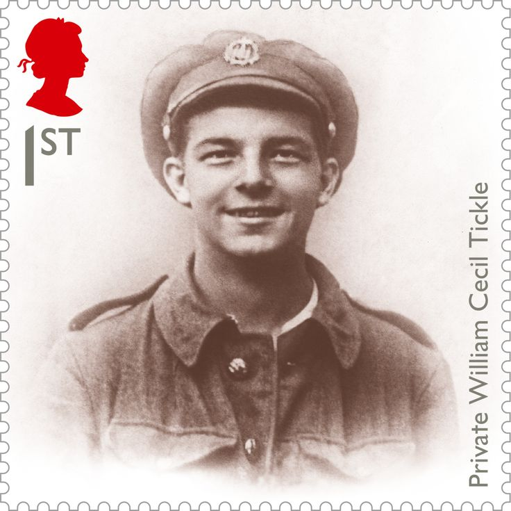 Private Tickle, an underage soldier who was killed during the Battle of the Somme, 1st class. More here: http://bit.ly/X2yQvb