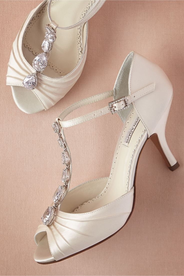 Jewel Trove T-Straps in Shoes & Accessories Shoes at BHLDN