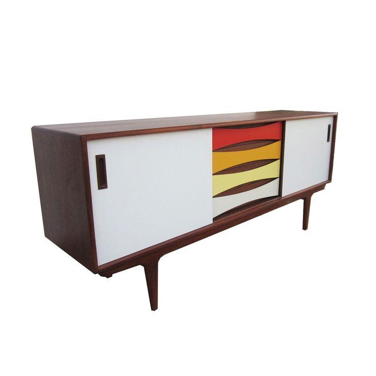 modern contemporary furniture retro. Part Of The Rainbow Sideboard | Dotandbo.com. Eclectic FurnitureRetro FurnitureHouse FurnitureFurniture StorageContemporary IdeasModern Modern Contemporary Furniture Retro