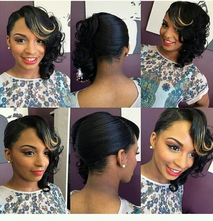 would be very pretty for a prom style or dressy attire (party, business, etc;)