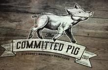 Tasty burgers at the Committed Pig in downtown Morristown NJ