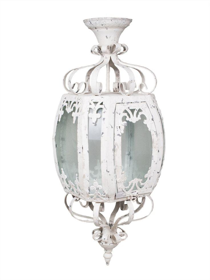 Lampa/lampion Shabby Chic lovelypassion.pl #shabbychic #vintage #country #shop #decor #home #dom #dekoracja #inspiration #beautiful