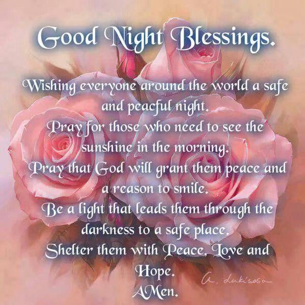 Good Night Blessings! ~ <3