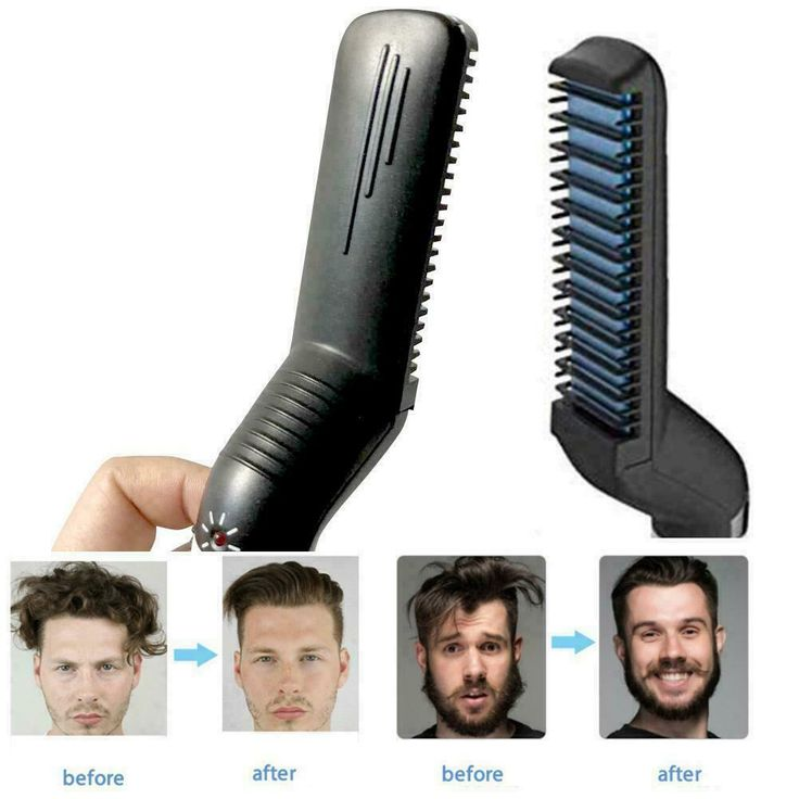Mens Comb Multifunktions Quick Beard Straightener Lockenwickler Show Cap $ 9.99 #hair #styler #for #men