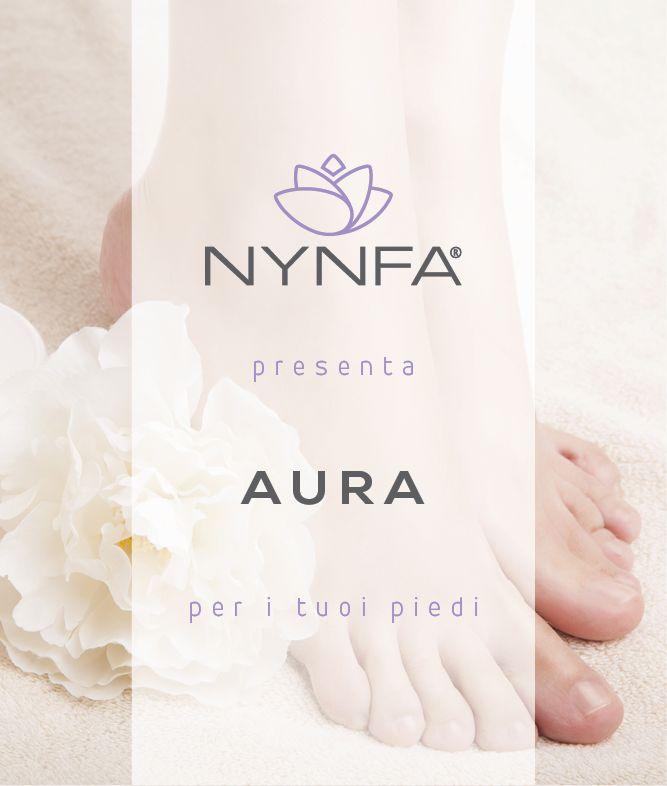 NYNFA presenta AURA, per i tuoi piedi.