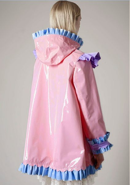 A sissy raincoat. It's so pretty, I wish I had one!