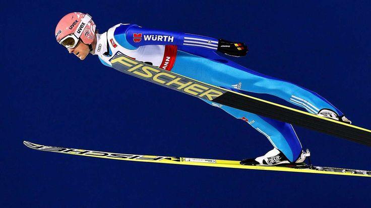 Bis zum letzten Sprung durfte DSV-Skiadler Severin Freund (26) noch auf Gold hoffen. Dann sprang der Norweger Rune Velta.