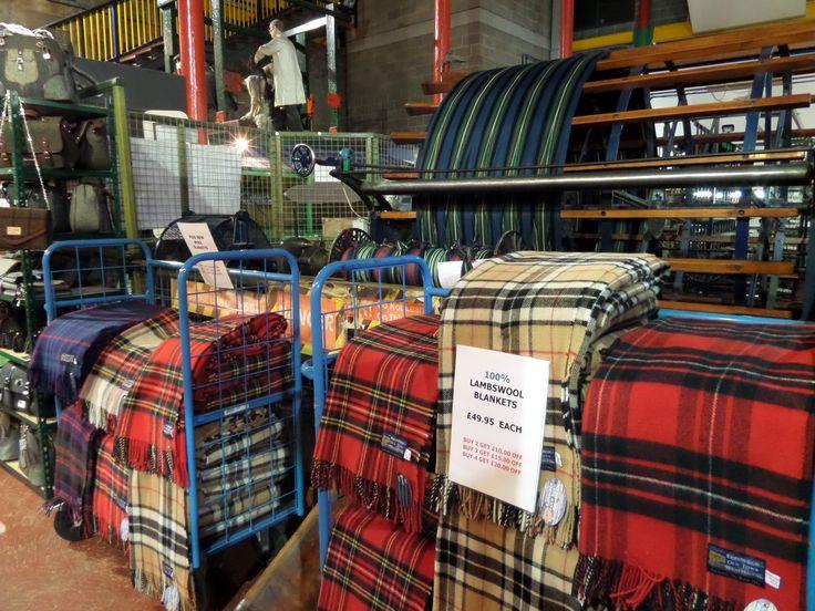 The tartan weaving mill on the royal mile my family 39 s for Interior design agency edinburgh
