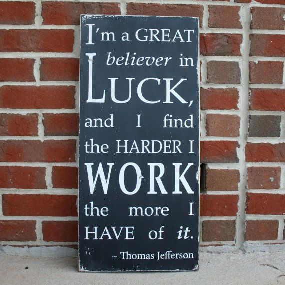 Luck Vs Hard Work Quotes: 146 Best Images About Motivational Study Quotes On