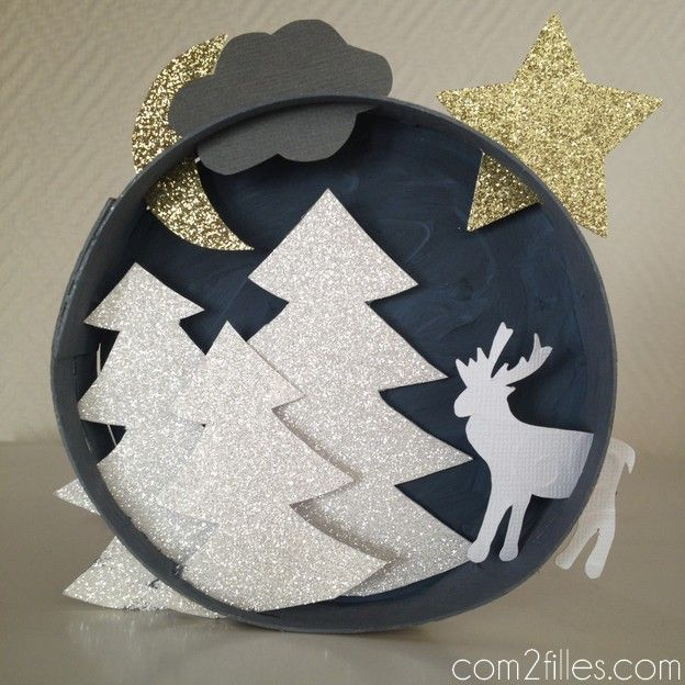 Decoration De Noel Boite Camembert