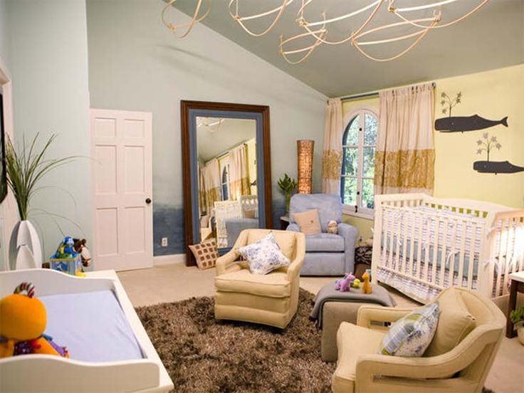 Interior Design Decor With Pretty Retro Idea. Nursery ...