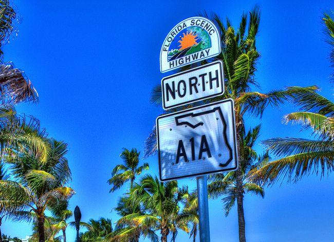 All the signs are pointing you to Fort Lauderdale Beach :)