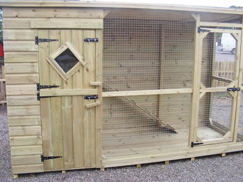 These are sometimes sold as cat houses or dog kennels but they make perfect bunny homes too.  add a tunnel to an outside run and you've got the best of both worlds