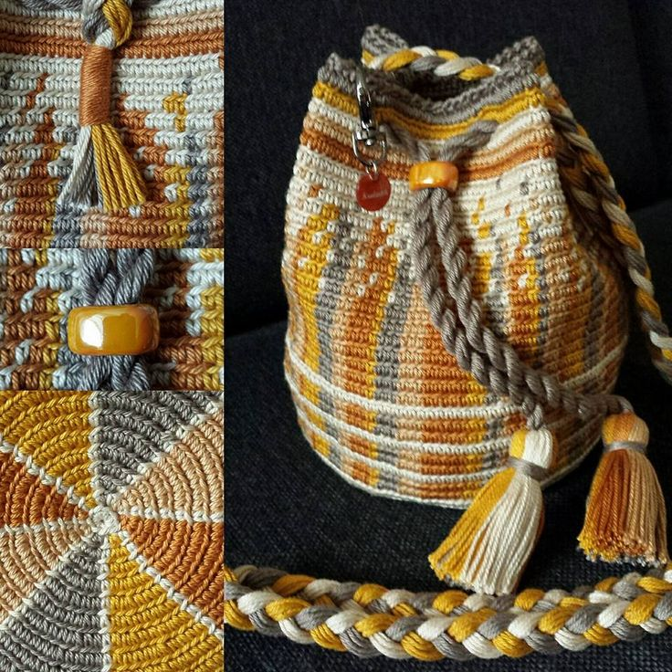 Mochila bag Golden/Yellow