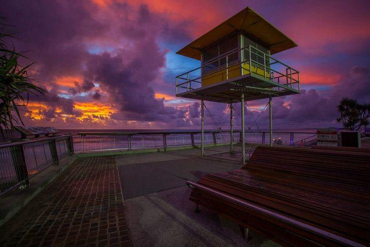 Sunrise over Surfers Paradise