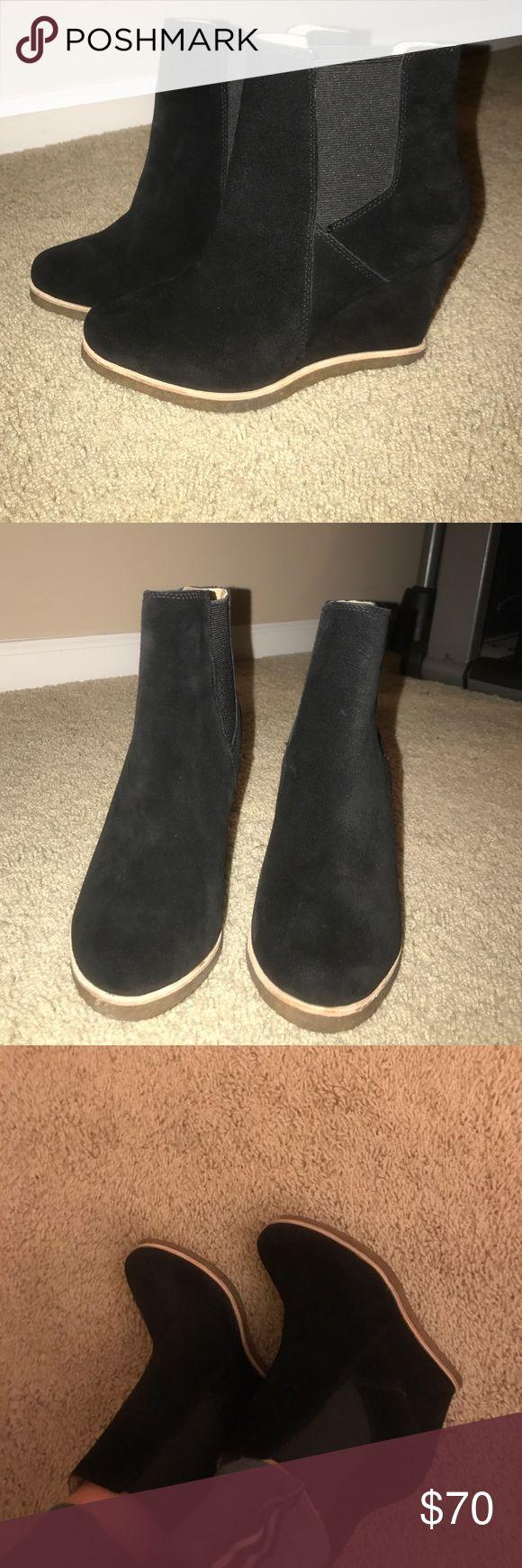 "Splendid ""Tara"" booties Black suede booties. Never worn. Extremely comfortable! Splendid Shoes Ankle Boots & Booties"