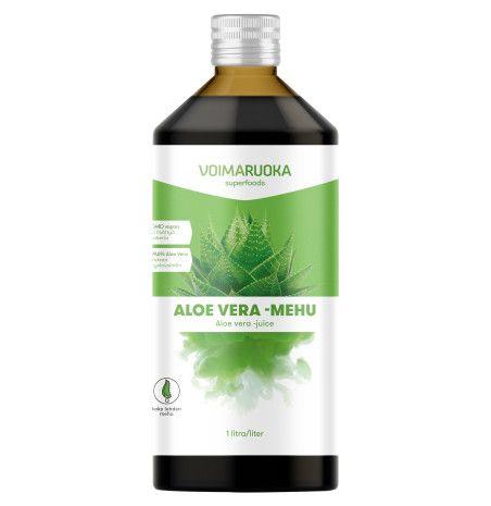 Voimaruoka Aloe Vera -mehu 1l ravintolisä - Terveystuotteet - Tokmanni