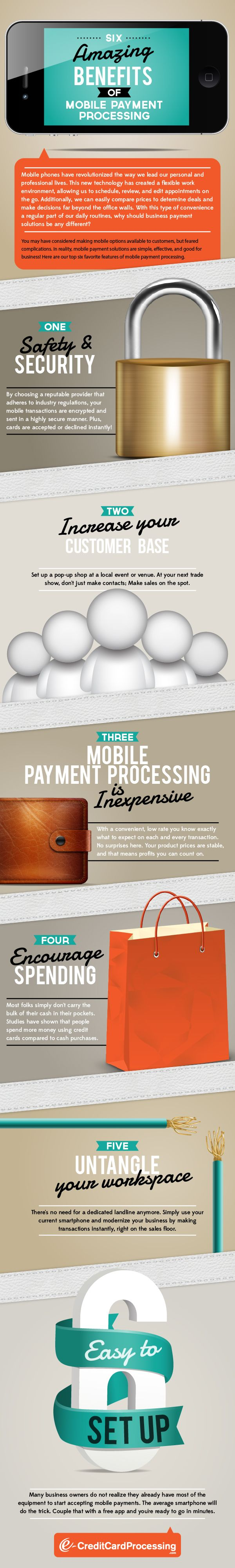 Six Amazing Benefits of Mobile Payment Processing