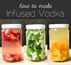How to Make Infused Vodka  Everything you need to know to infuse vodka with fruit, veggies, or spices. They sell infused vodka and it's expensive! Super easy to make at home. ....... http://herbsandoilshub.com/how-to-make-infused-vodka/