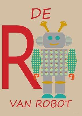 Poster R van Robot