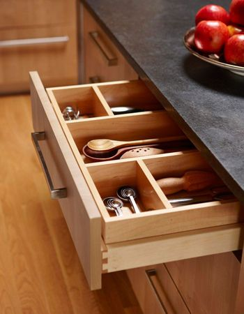 Draw divider - shallow drawers for utensils
