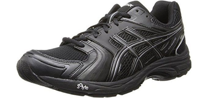Asics Men's GEL-Tech Walker Neo 4 Heel Cushioning Walking Shoe