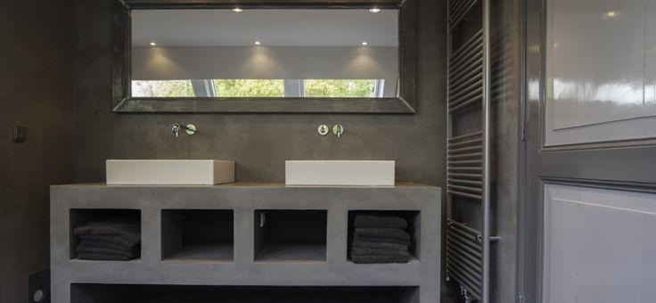Veel mogelijkheden met # microcementmeubels voor in uw badkamer ...