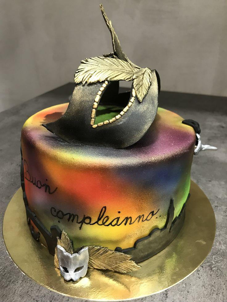 carneval Venice cake