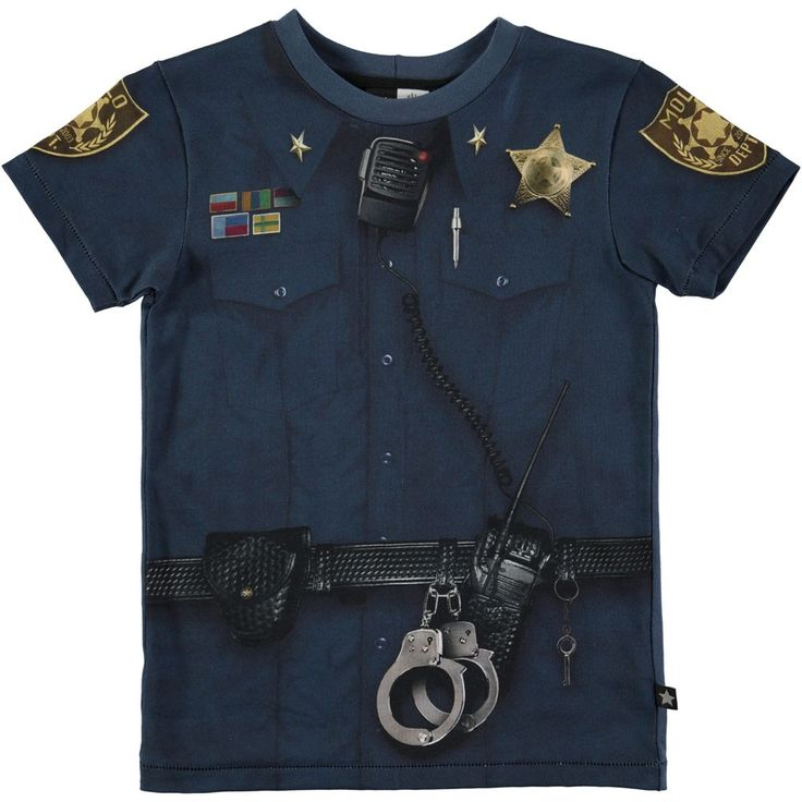Molo Kids T-Shirt Rokil Police officer
