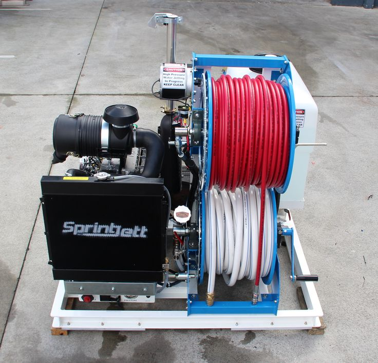 Sprintjett Pro Mod 35HP Diesel Water Jetter by Queensland Jetters & Pressure Cleaners Pty Ltd (07) 5561 7771. #Sprintjett #SPRINTJETT