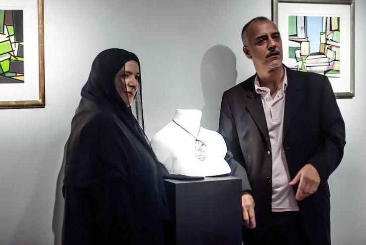 Sculpture To Wear : Azza Al-Qubaisi in collaboration with  Galvin Harrison