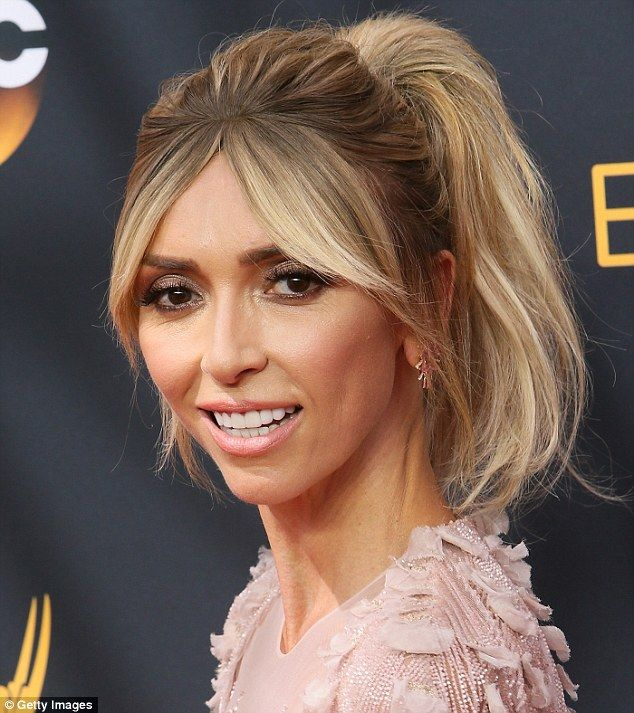 Join the club: Giuliana Rancic, 42, pictured here at the Emmy Awards, is also…