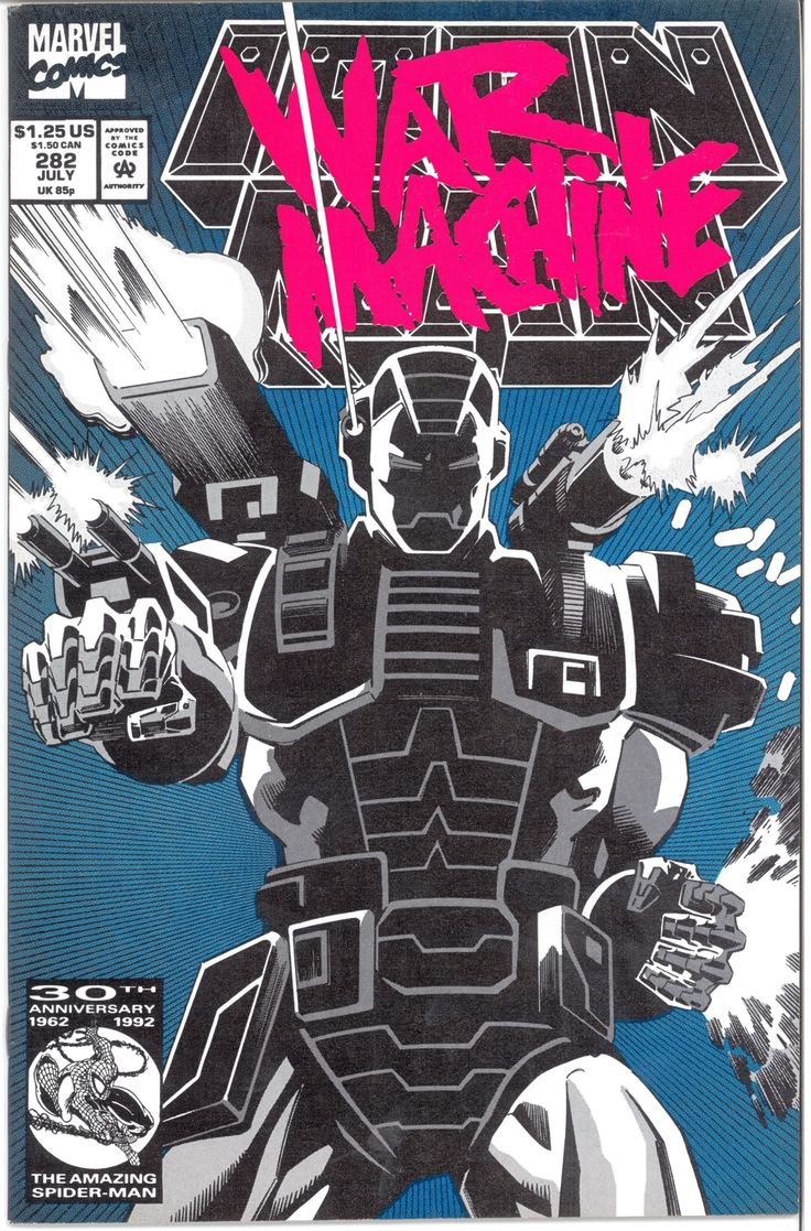 medium resolution of iron man 282 the first appearance of war machine